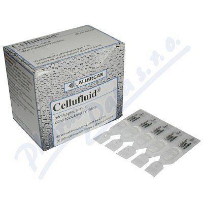 Cellufluid oční kapky 30ks (umělé slzy)