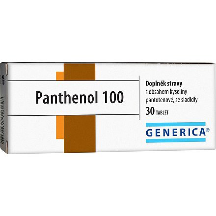 Panthenol 100 Generica tablety 30