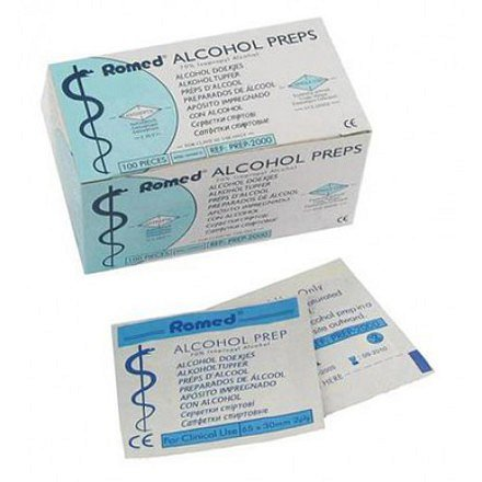 Alcohol Preps 100ks