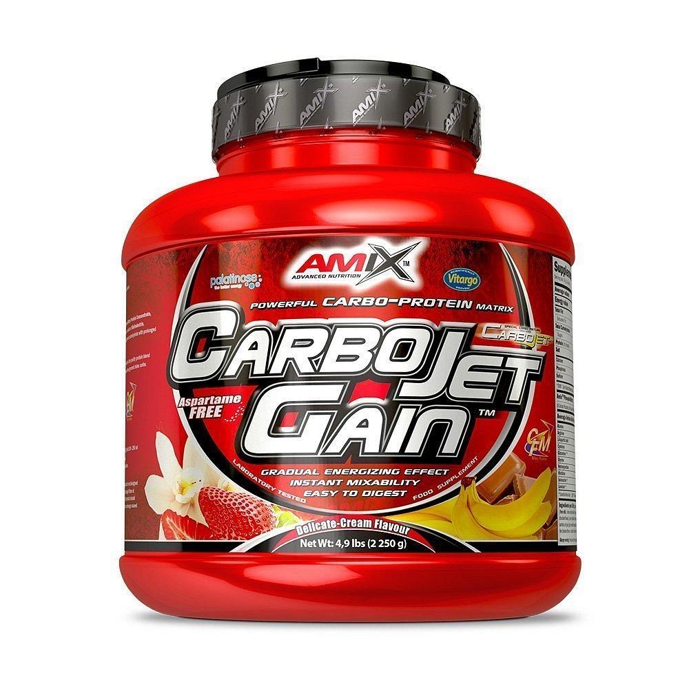 Amix CarboJet Gain Strawberry, 1000g
