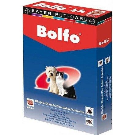 Bolfo antiparazitní obojek pro malé psy a kočky