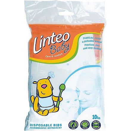 Bryndáčky jednorázové Linteo Baby 10ks