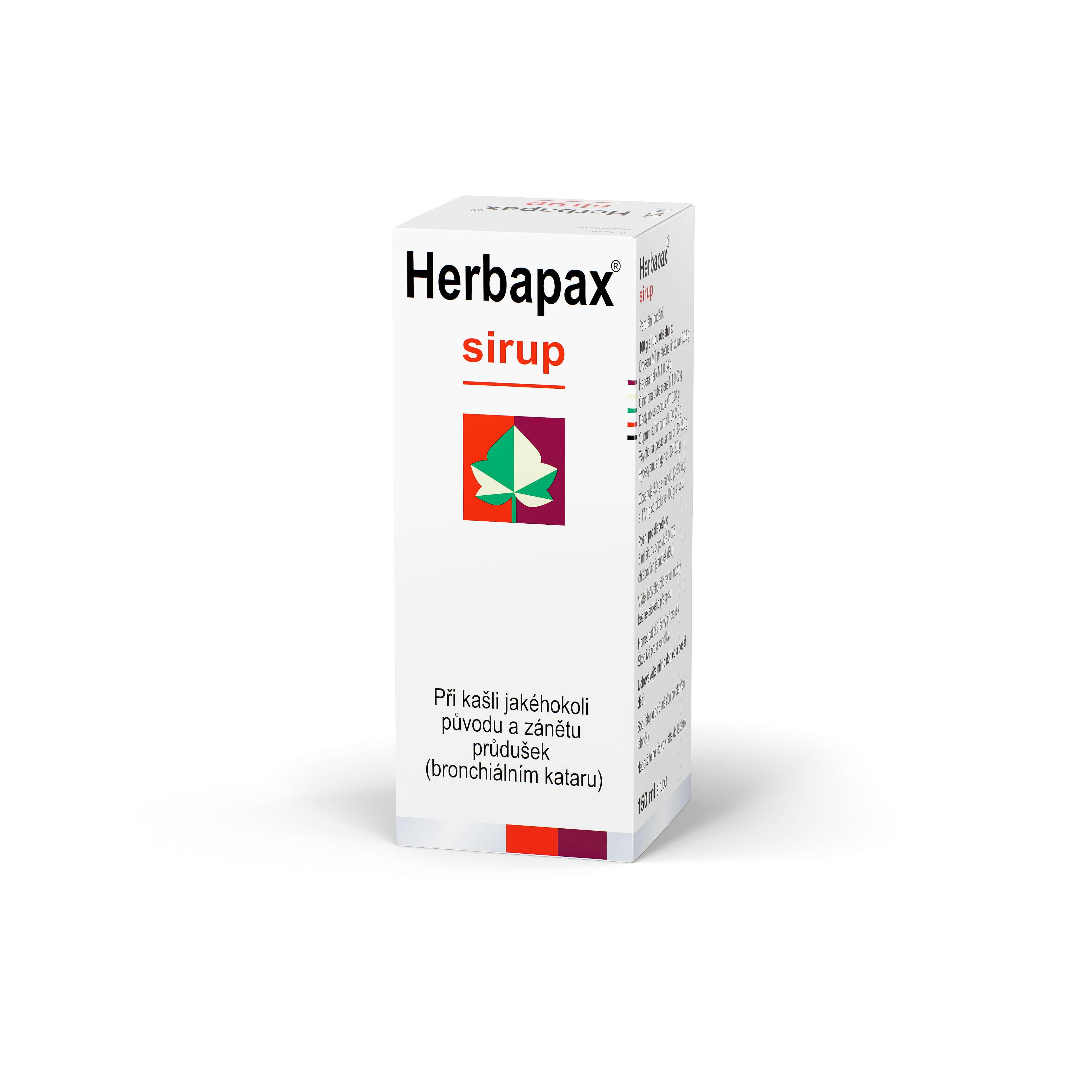 Herbapax sirup 150ml
