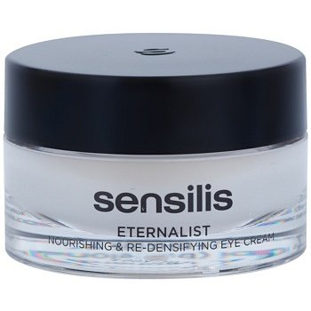 Sensilis Eternalist výživný krém pro obnovu hutnosti pleti v oblasti očního okolí 15 ml