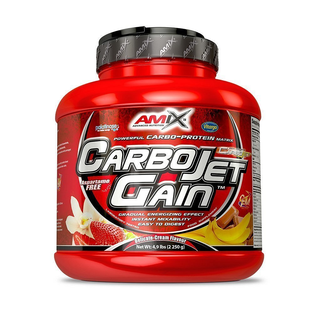 Amix CarboJet Gain Vanilla, 1000g