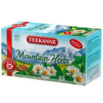TEEKANNE Mountain Herbs n.s.20x1.8g