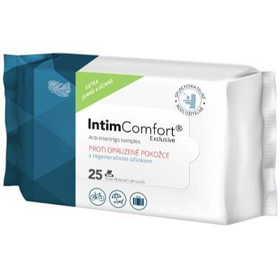 Intim Comfort 25 kapesníčků anti-intertrigo pack