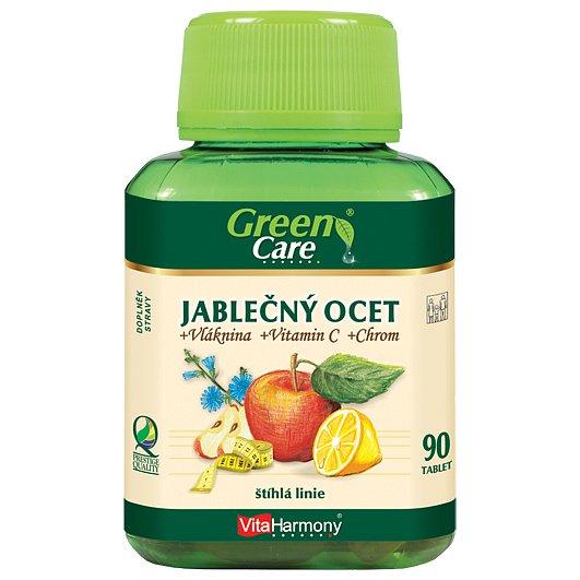 Jablečný ocet + vláknina + chrom + vitamin C 90tbl.