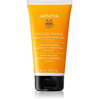Apivita Intense Repair Olive & Honey regenerační kondicionér pro suché a poškozené vlasy 150 ml