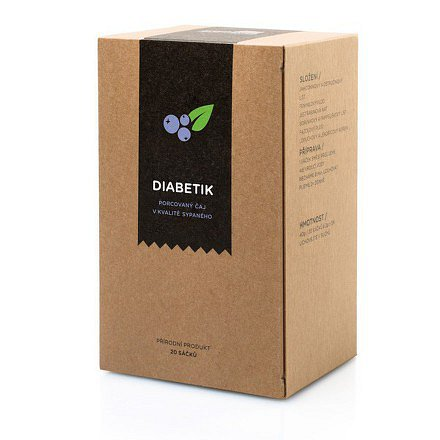 AROMATICA Bylinný čaj Diabetik n.s.20x2g