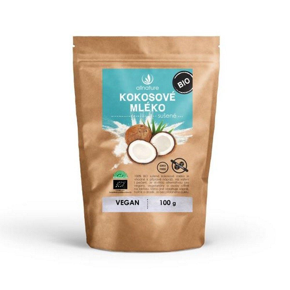 ALLNATURE Kokosové mléko sušené BIO 100 g