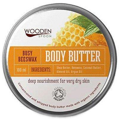 WoodenSpoon Tělové máslo Pilný včelí vosk 100ml
