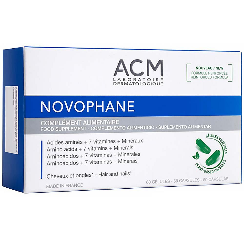ACM Novophane Vitamíny pro kvalitu vlasů a nehtů 60 kapslí