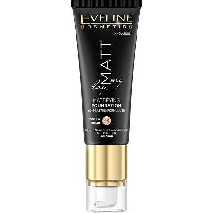 Eveline Matt My Day – Matující make-up 03 Vanilla Beige