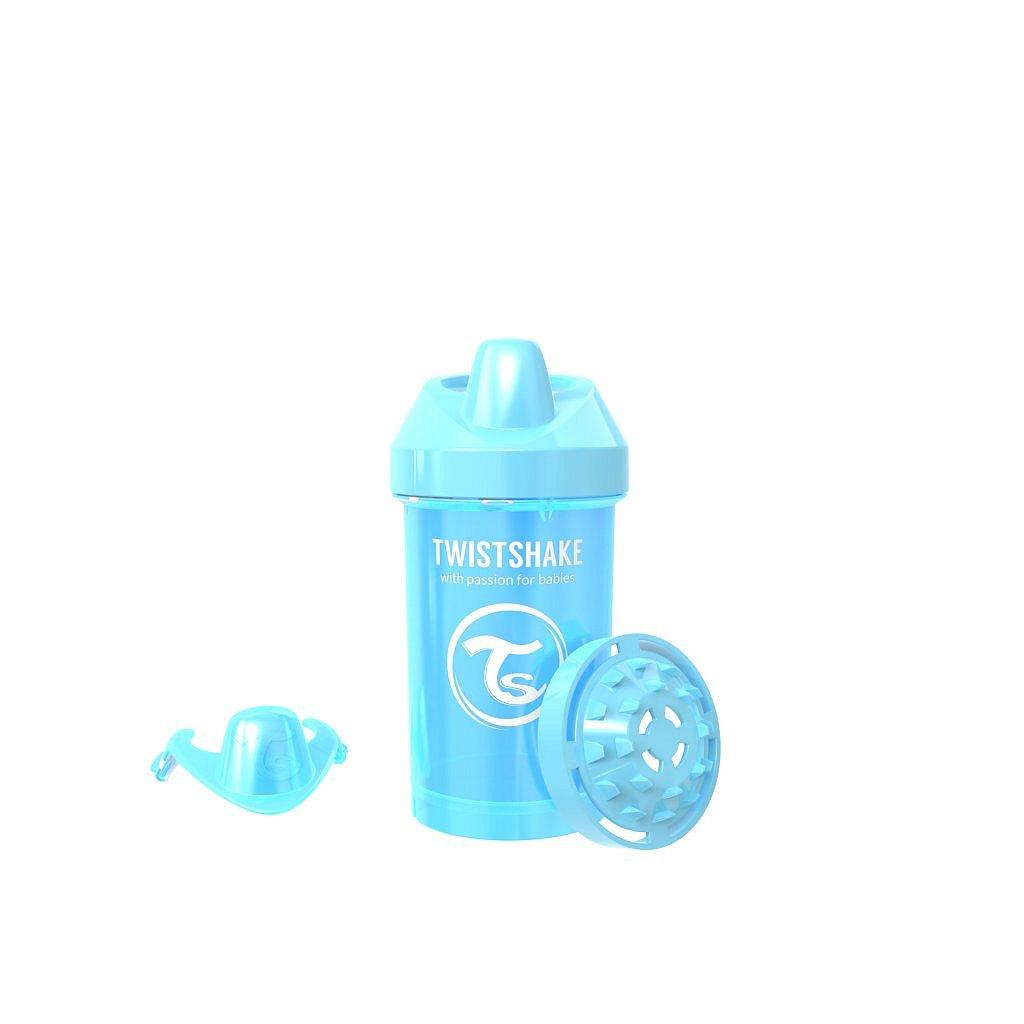 TWISTSHAKE Láhev pro batolata 300 ml 8+ m PEARL Modrá