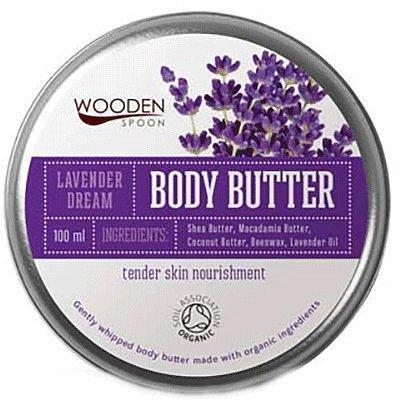 WoodenSpoon Tělové máslo Levandulový sen 100ml