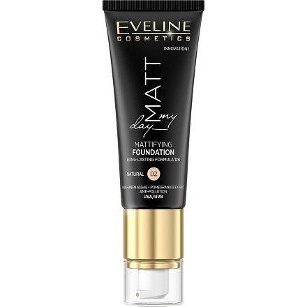 Eveline Matt My Day – Matující make-up 02 Natural