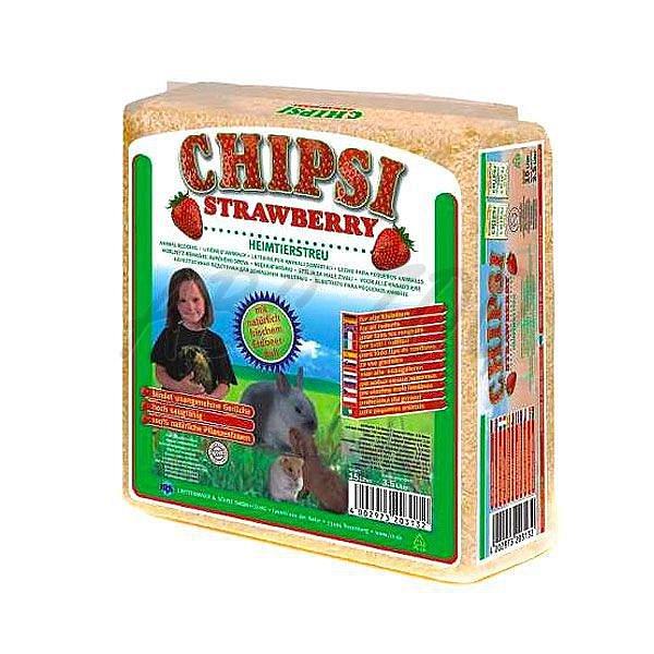 Cats Best Chipsy Strawberry podestýlka 60l