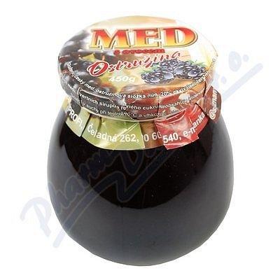 MED s ovocem OSTRUŽINOVÝ bucláček Dr.Bojda 450g