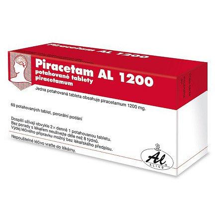 Piracetam AL 1200 perorální tablety film  60 x 1200 mg