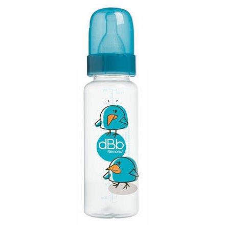 dBb lahvička Dodo PP 270 ml,savička NN.- tyrkysová
