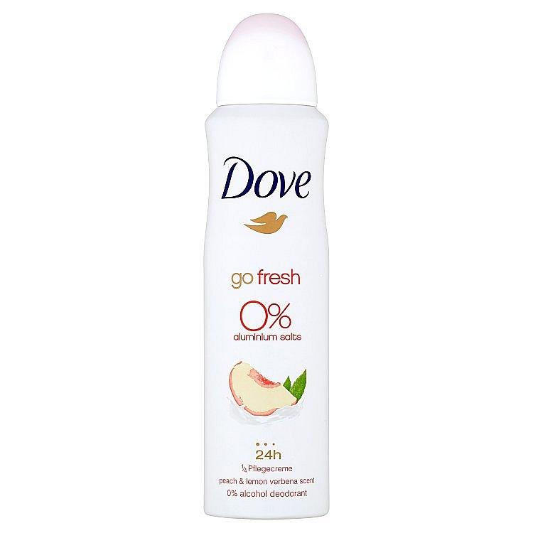 Dove Alu-free Broskev a citrón deodorant sprej 150 ml