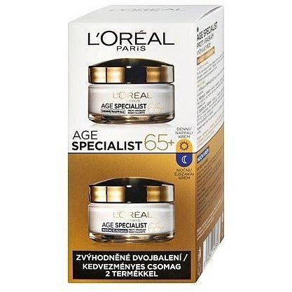 L'Oréal Paris Age Specialist 65+ sada denního a nočního krému 2 x 50 ml dárková sada