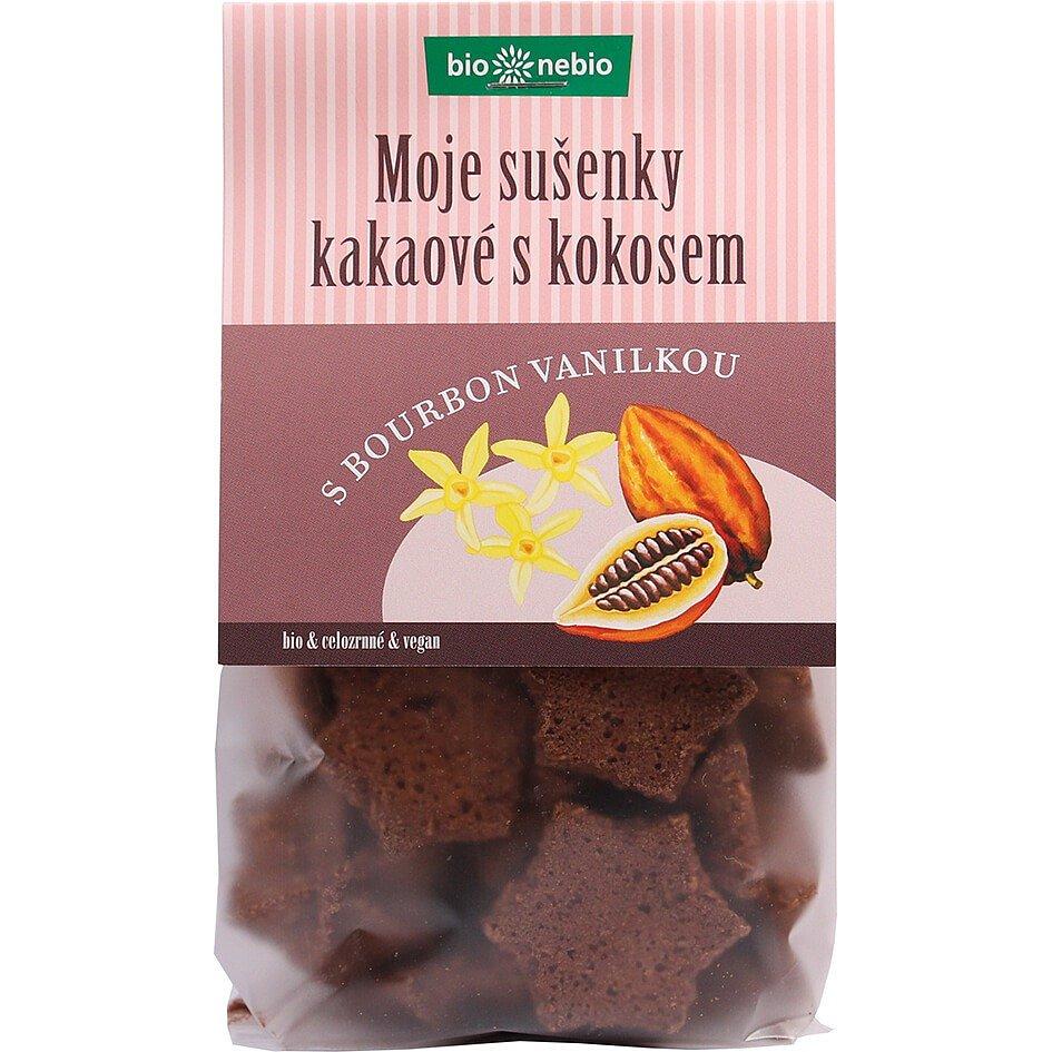 Bio*nebio Bio Moje sušenky kakaové s kokosem 130g