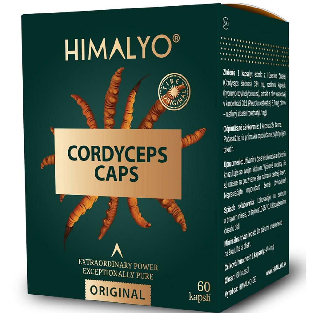 HIMALYO Cordyceps 60 kapslí