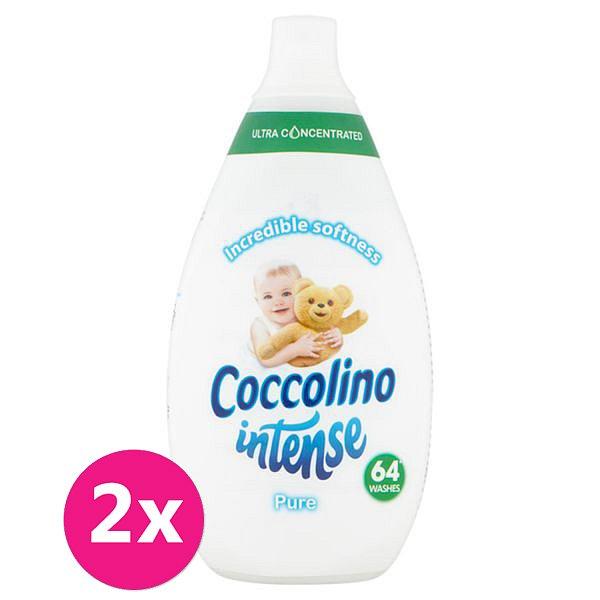 2x COCCOLINO Intense Pure aviváž 64 dávek 960 ml