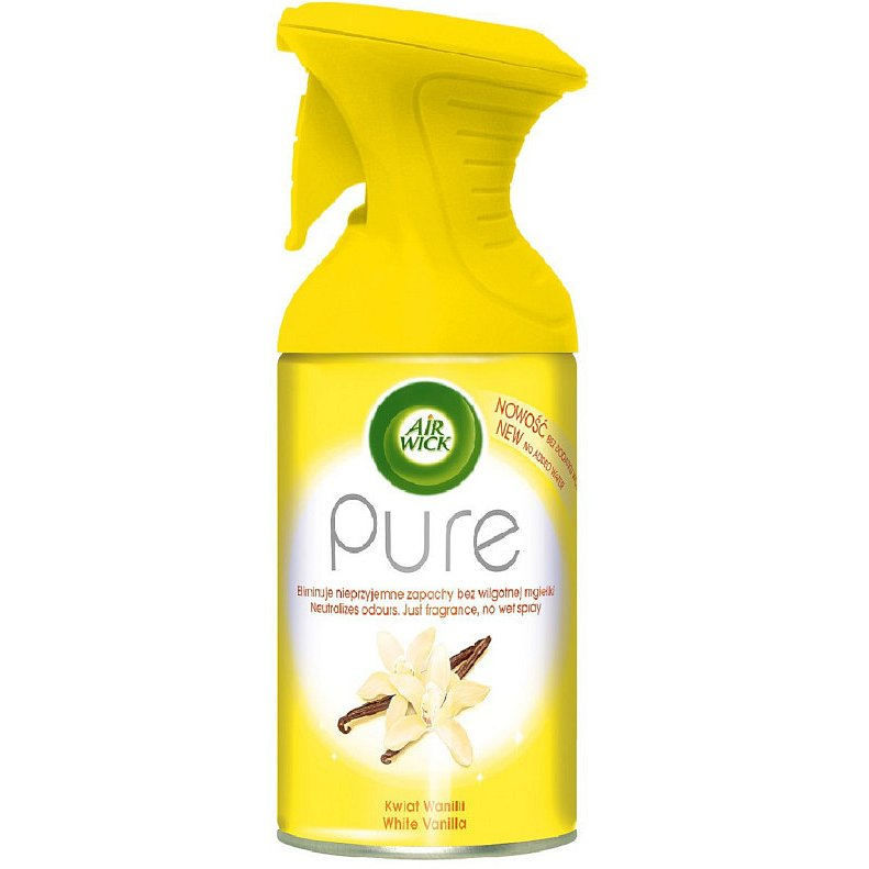 Airwick Spray Pure Bílý květ vanilky 250ml