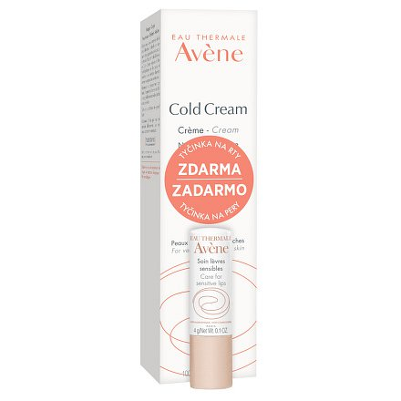 AVENE Cold Cream 100ml+Tyčinka na rty 4g