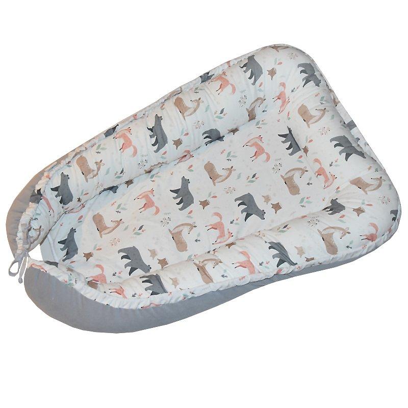 EKO Hnízdo pro miminko bavlněné Roe-Deer