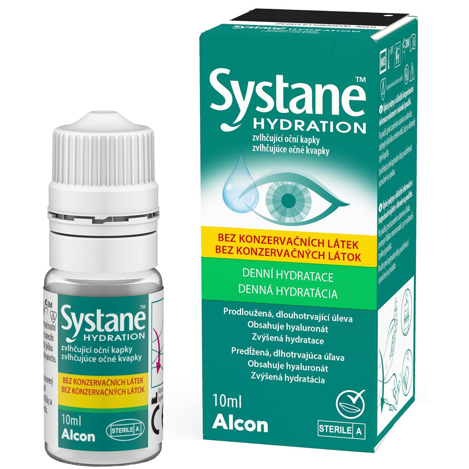 Systane™ HYDRATION Zvlhčující oční kapky bez konzervačních látek 10ml