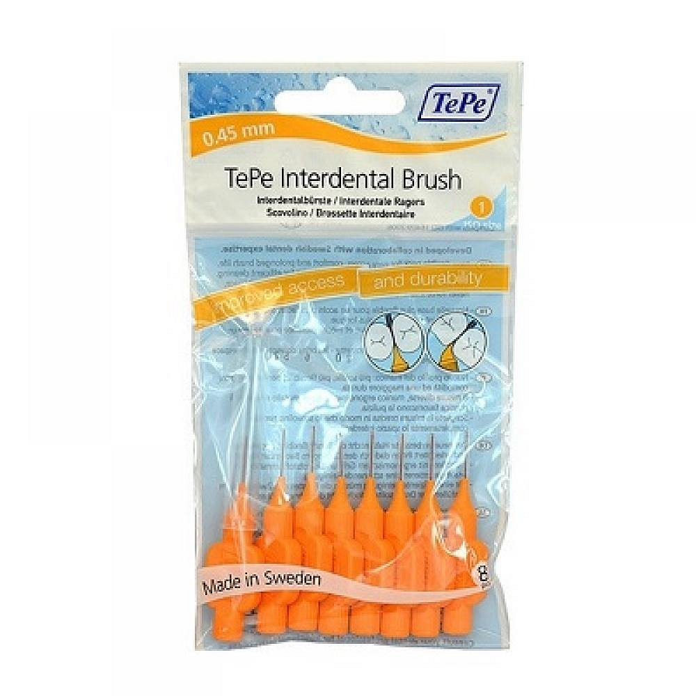 TePe mezizubní kartáčky oranžové 0.45 8 ks