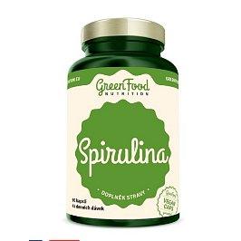GreenFood Nutrition Spirulina 90cps