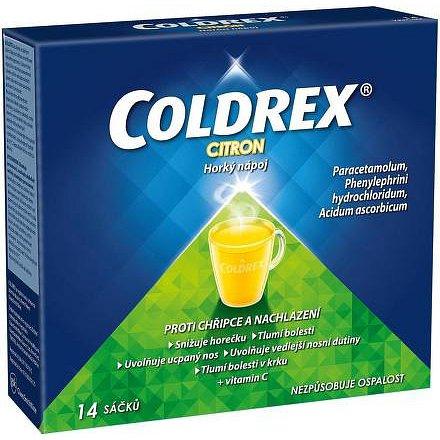 Coldrex Horký nápoj Citron 14 ks