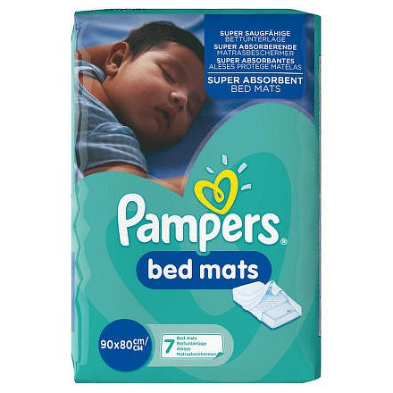 Pampers Bedmats 7 ks - dětské podložky do postele