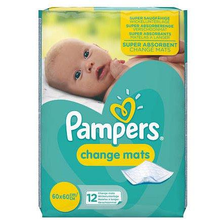 Pampers Changemats 12 ks – dětské přebalovací podložky