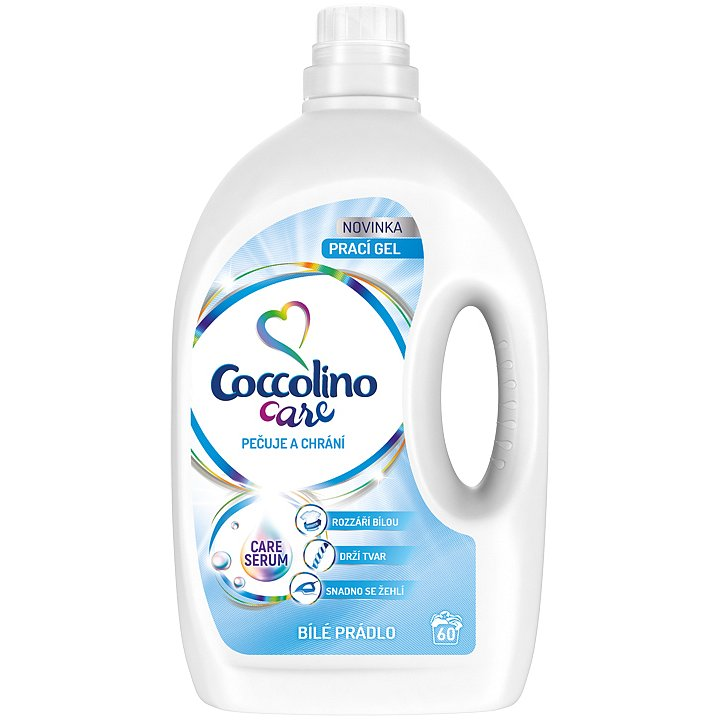 COCCOLINO Care White 2,4l (60 dávek) - prací gel