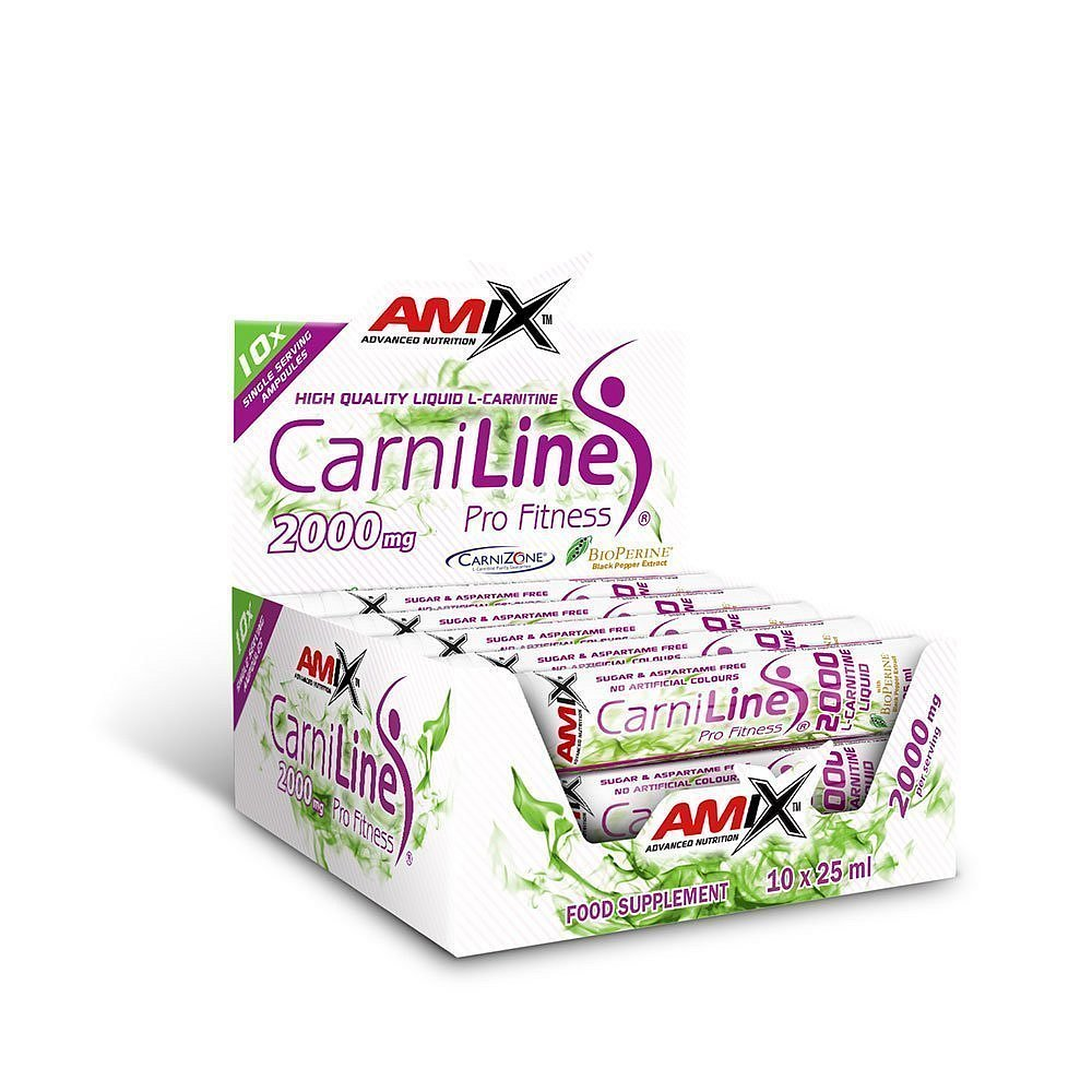 Amix CarniLine ProFitness 2000 Fresh Lime 10x25ml