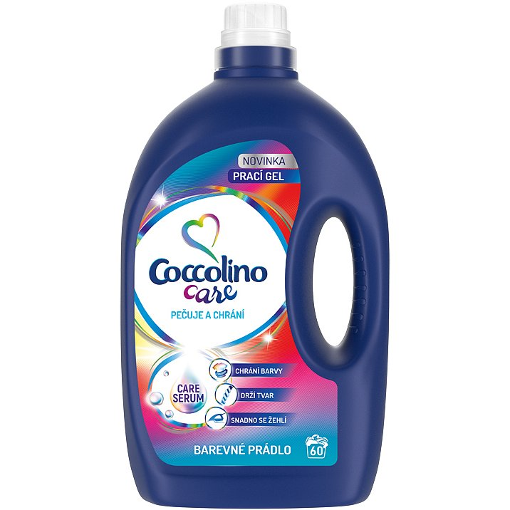 COCCOLINO Care Color 2,4l (60 dávek) - prací gel