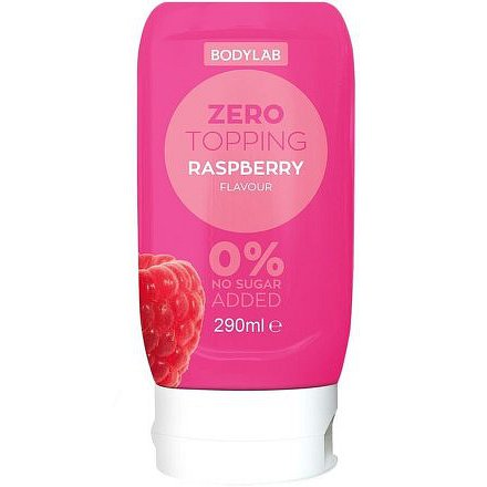 Bodylab Zero Topping Syrup malina 290ml