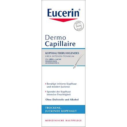 EUCERIN DermoCapillaire tonikum 5% Urea suchá pokožka 100ml