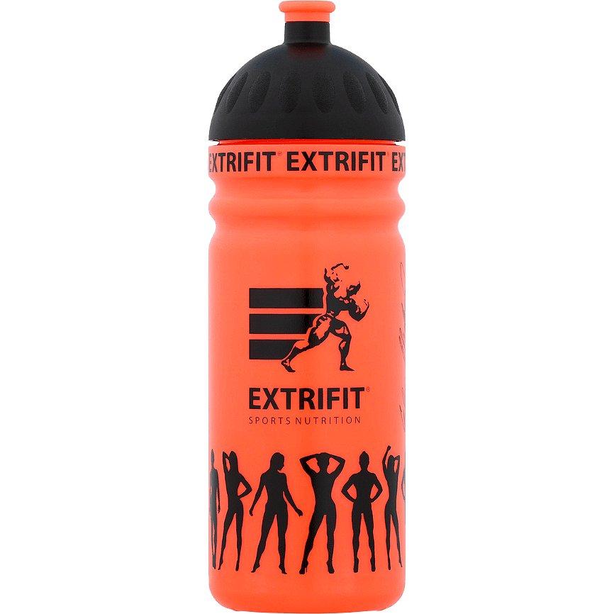 Extrifit Bidon s hubicí oranžový 750ml