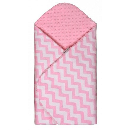 Rychlozavinovačka MINKY, pink / zig-zag
