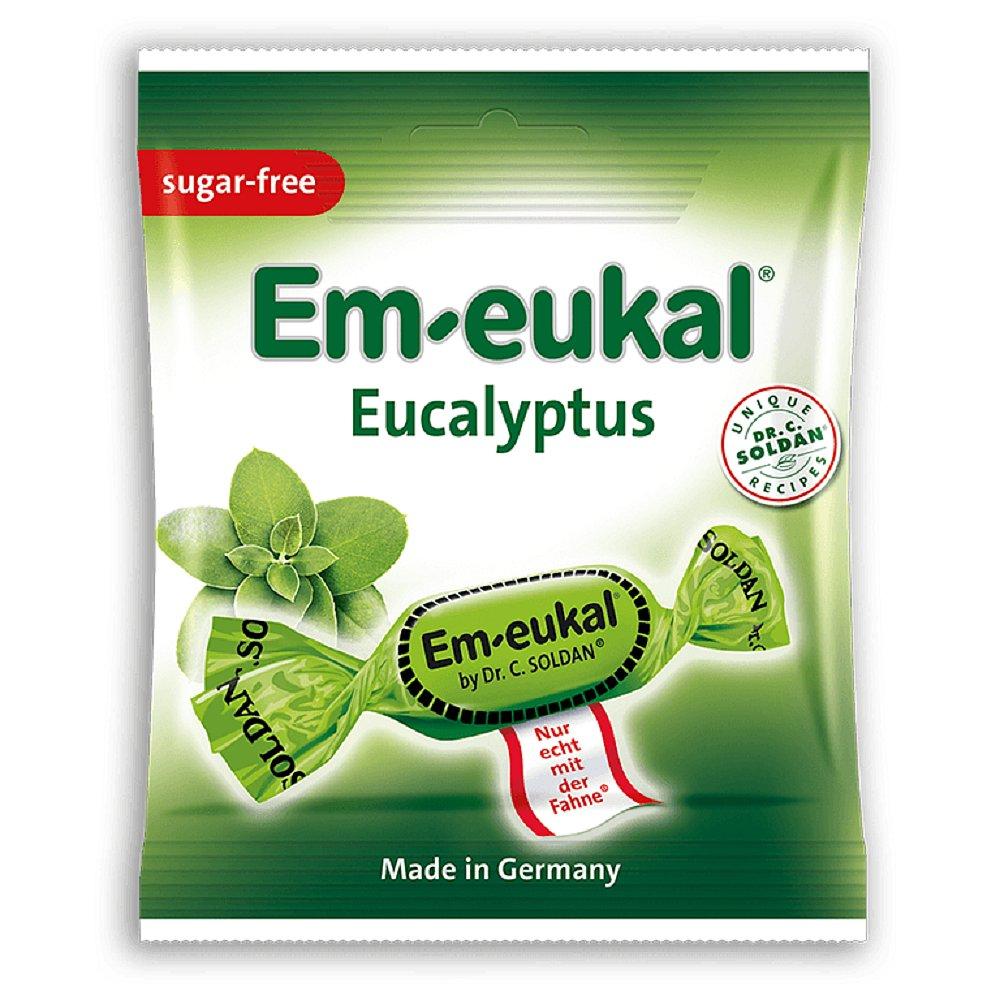 EM-EUKAL pastilky Eukalyptovo-mentolové 50g