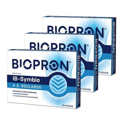 Walmark Biopron IB-Symbio + S.Boulardi 30 tob. AKCE 2+1