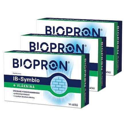Walmark Biopron IB-Symbio + vláknina 14 sáčků AKCE 2+1