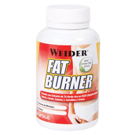 Weider, Fat Burner with Green Tea, 300 kapslí
